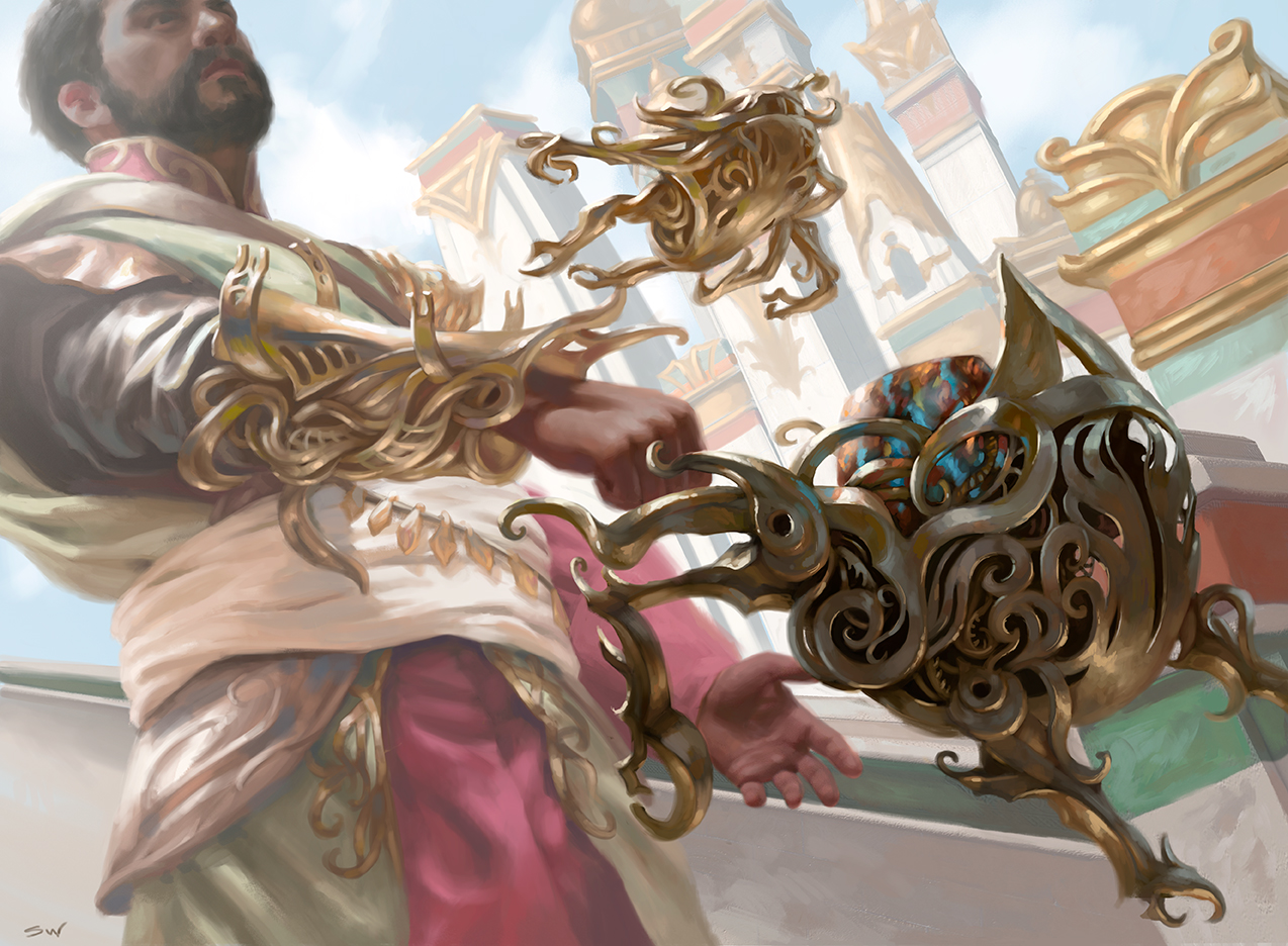 Servo Exhibition   Magic The Gathering: Kaladesh © Wizards Of The Coast 2016