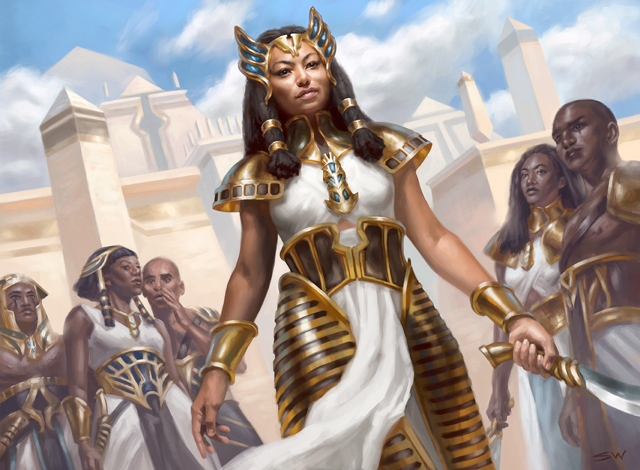 Honored Crop-Captain   Magic The Gathering: Amonkhet ©Wizards of the Coast 2017