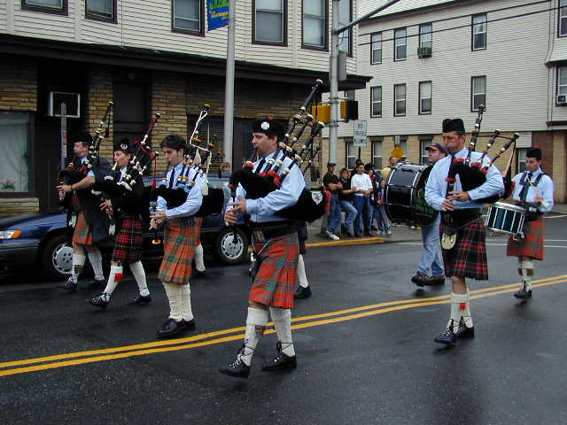 Irish Bagpipers March