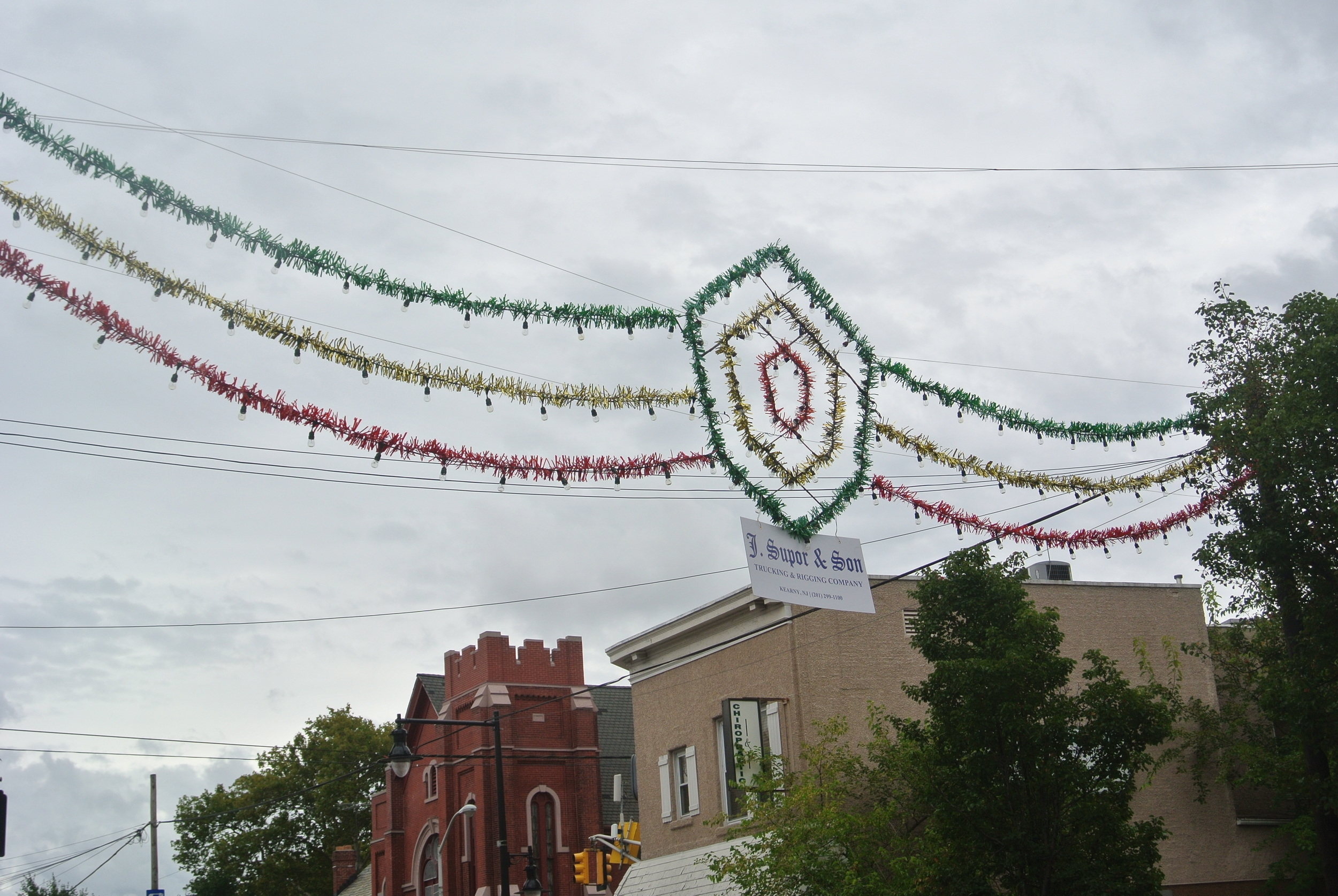 J. Supor & Son Arch for Harrison's 175th Anniversary