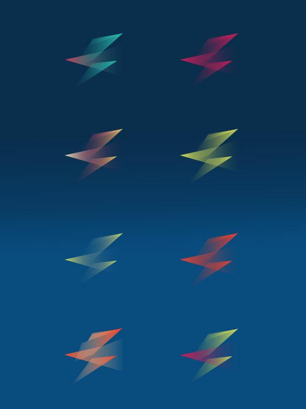 Color logo studies