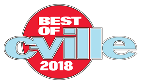 Nominated in the Top 6 Cinematographers in Best of C-ville 2017 and 2018!