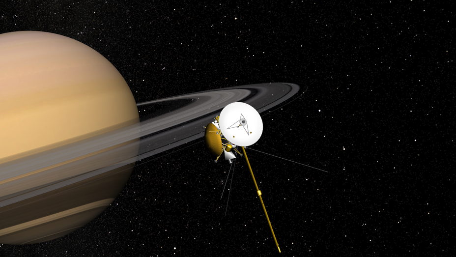 Cassini doing what it does best