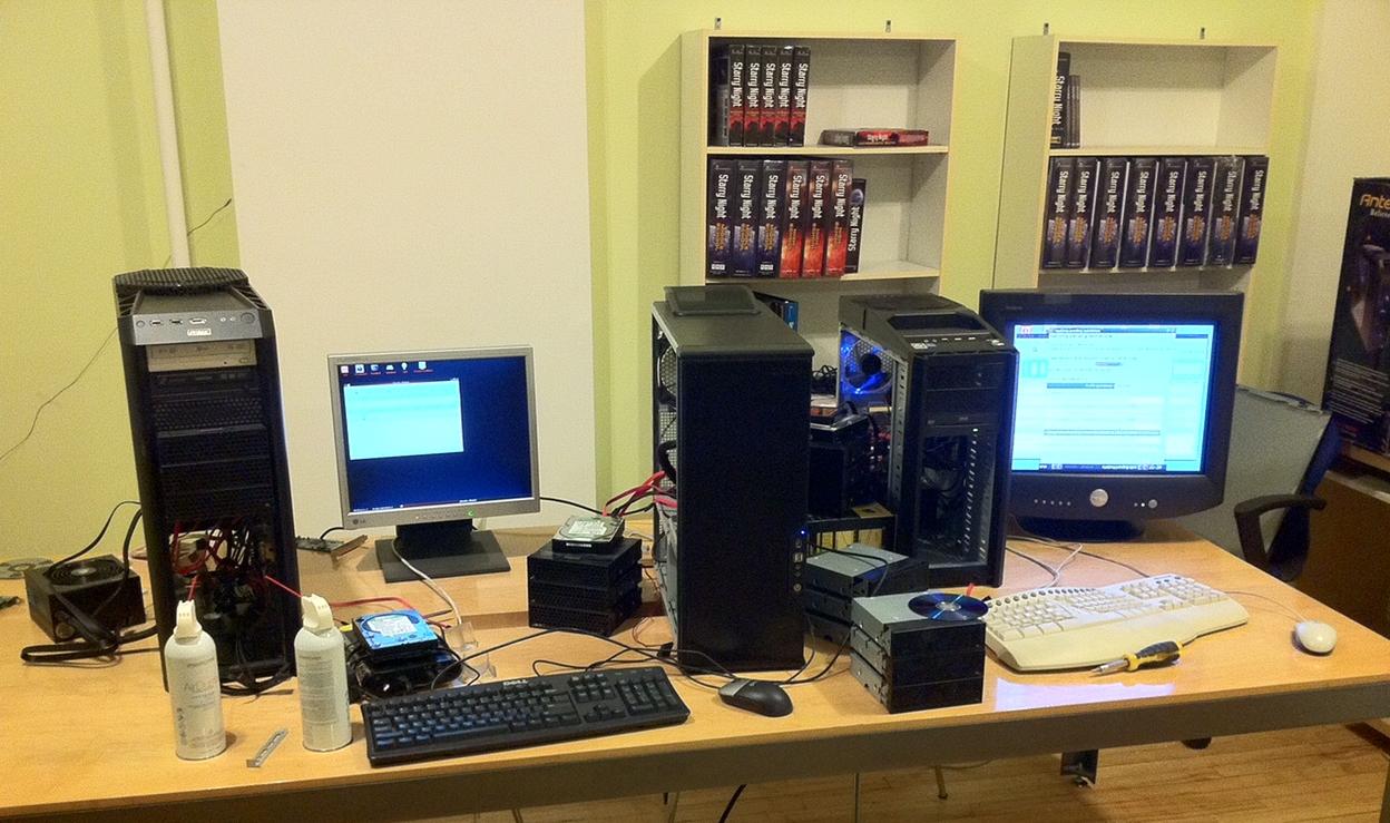 Software development sometimes entails hardware development too!