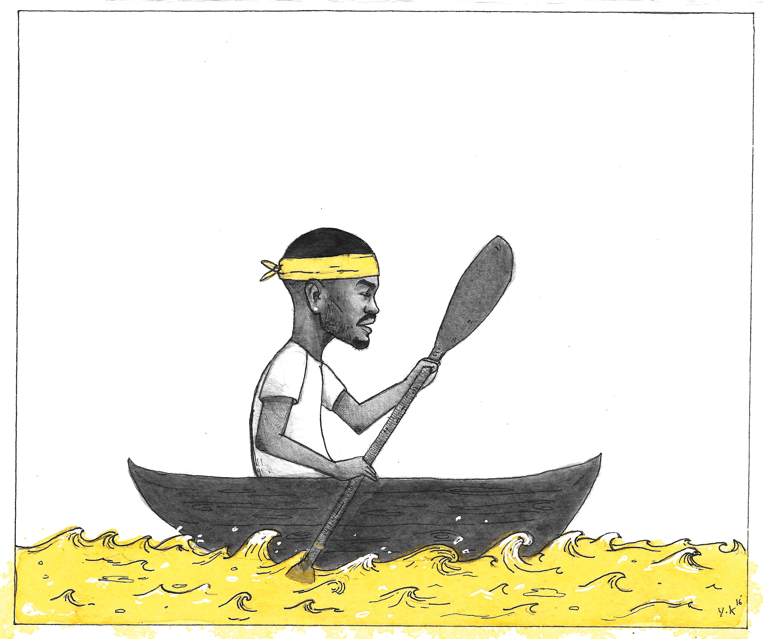 Frank in the Ocean