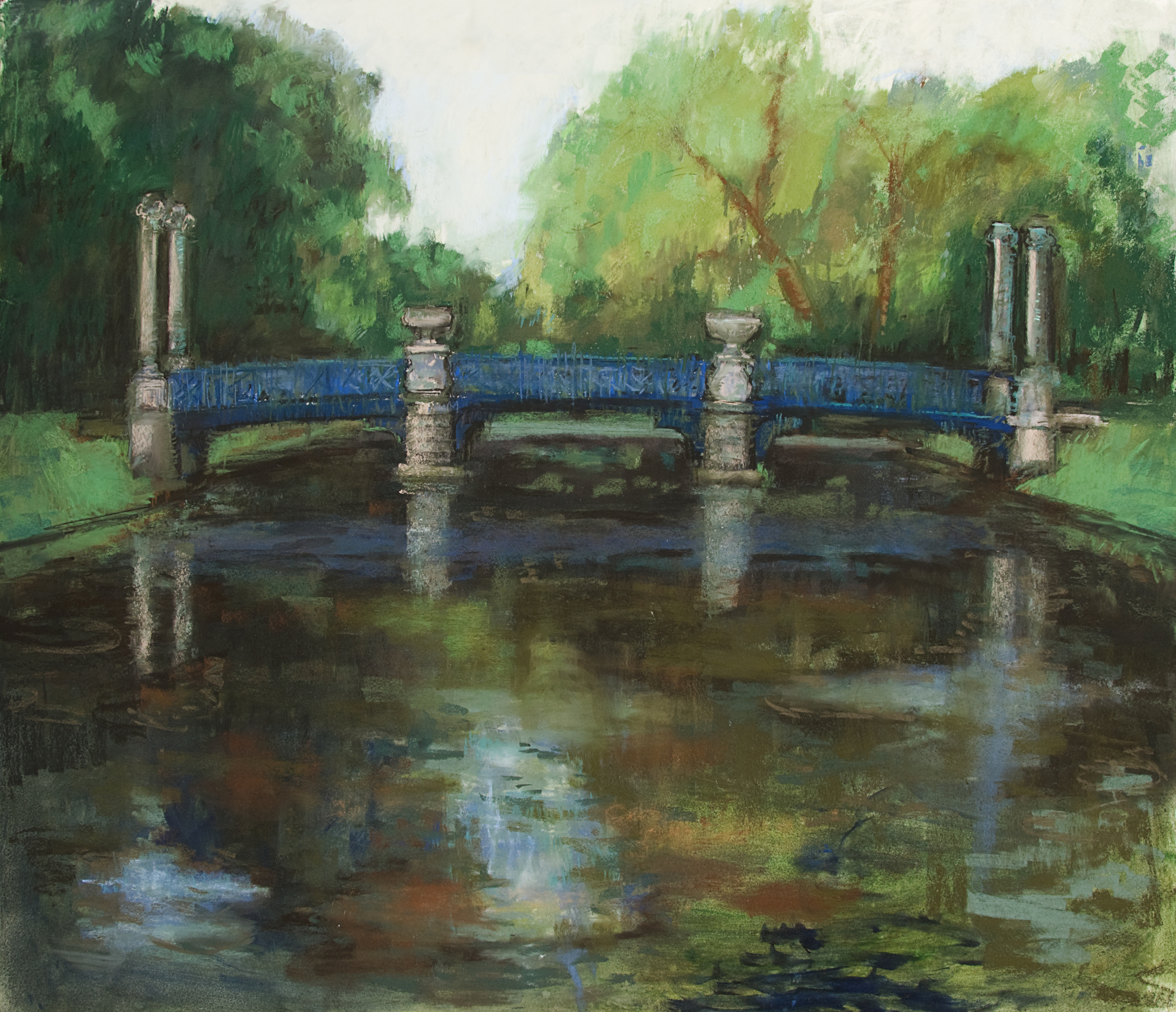 """Le Pont des Grands Hommes 50 x 41"""""""