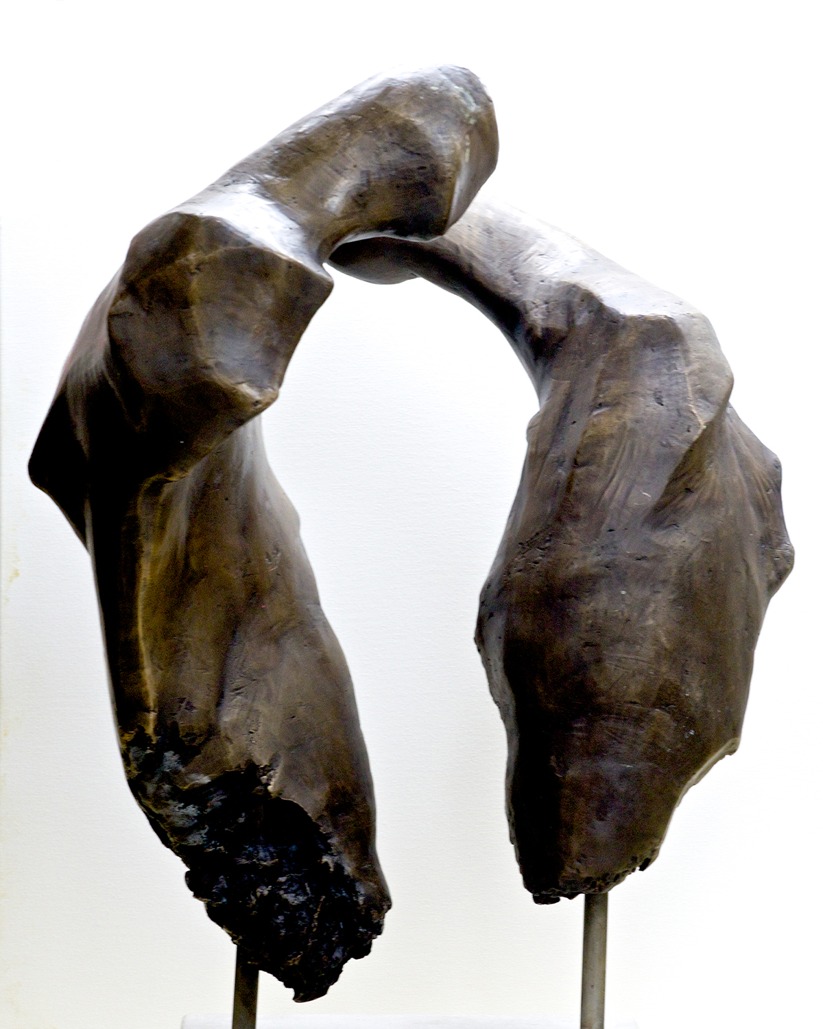 Double Abstract,  Bronze