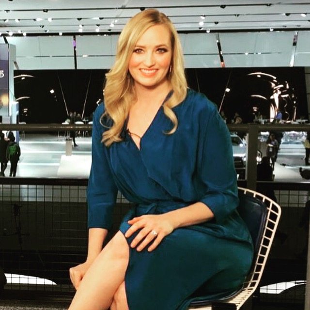 Makeup and Hair for Katrina Szish, Host for Robb Report Live