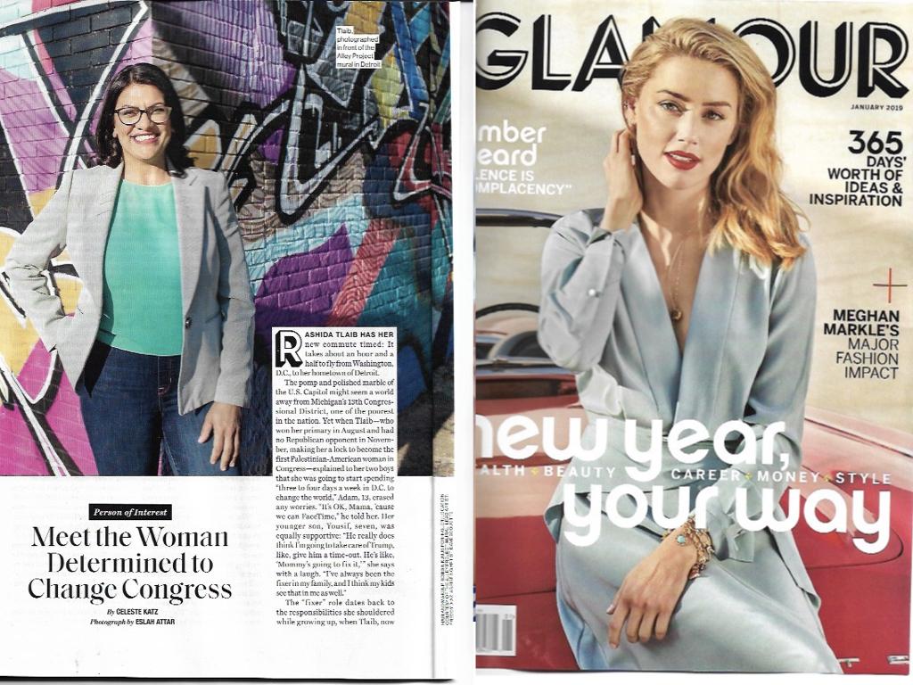 Glamour Magazine January 2019