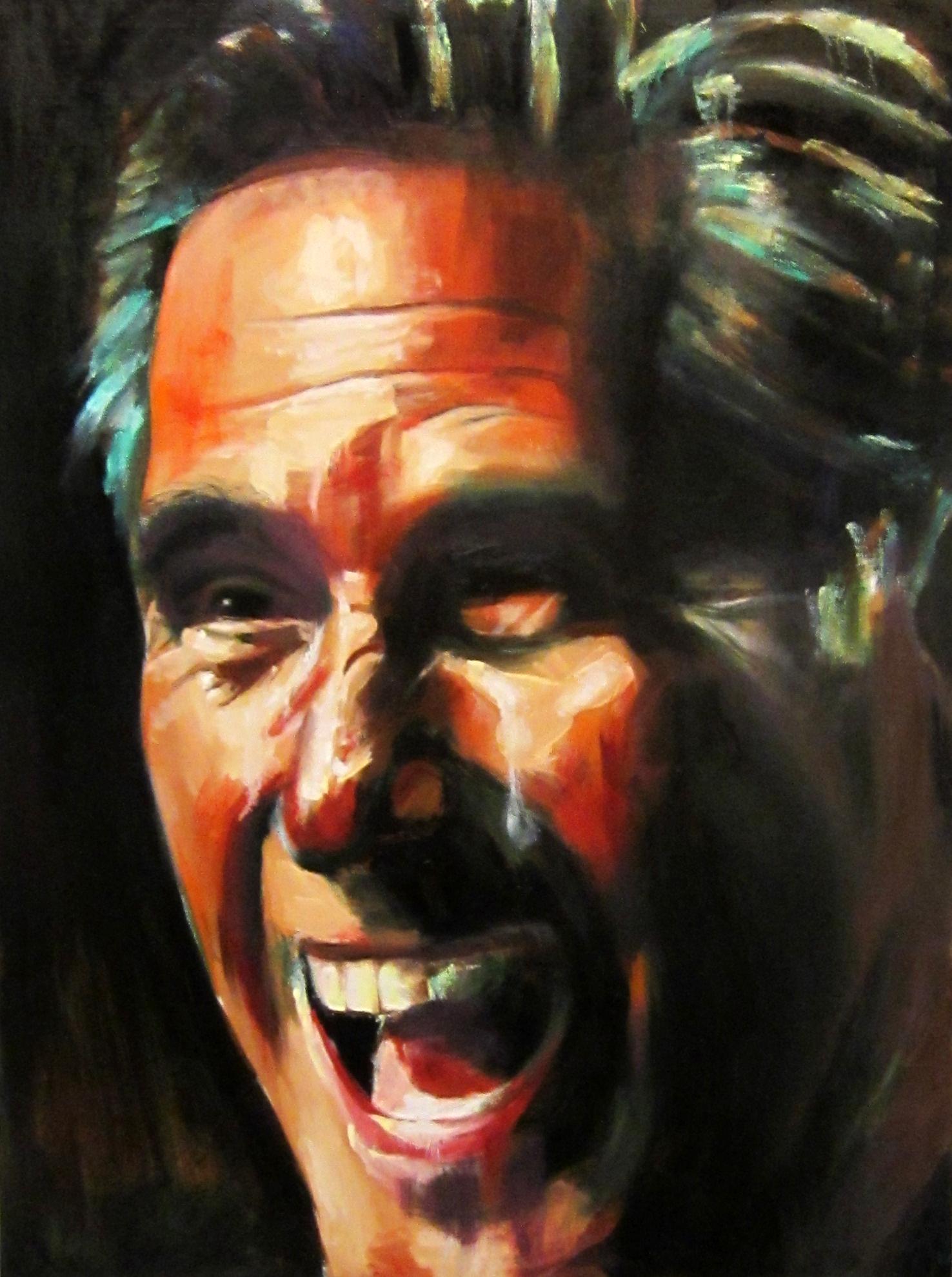 Mitt Romney (2013), Oil on Canvas