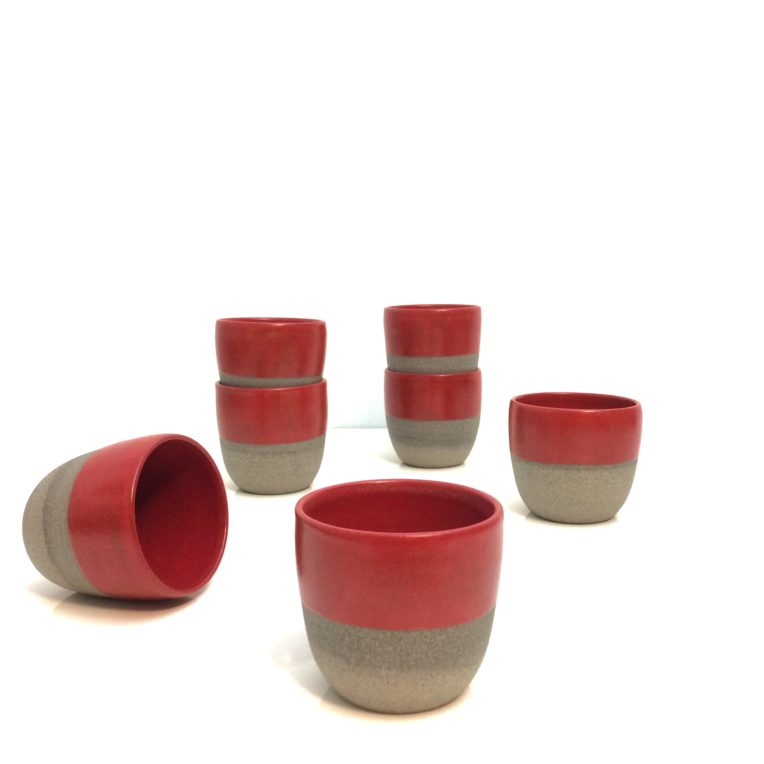 Chilli Red Collection - cups