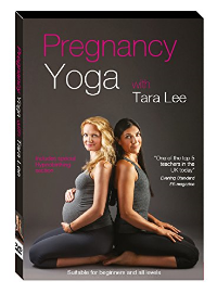 Pregnancy Yoga DVD with Tara Lee and me (with my bump, Felix.)  Buy it now on amazon.