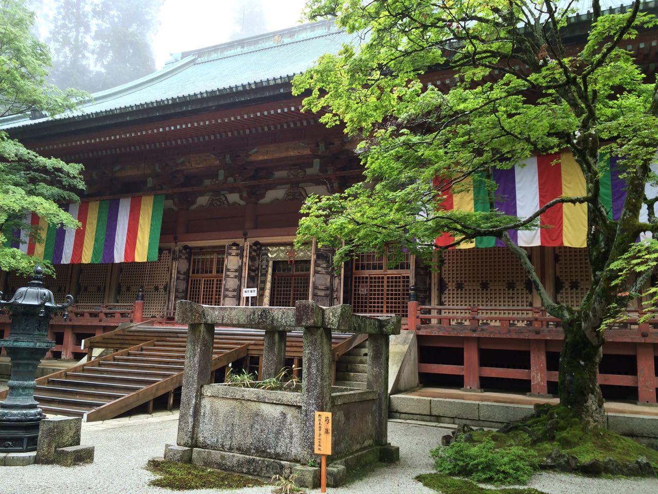 Major hall at Enryaku-ji