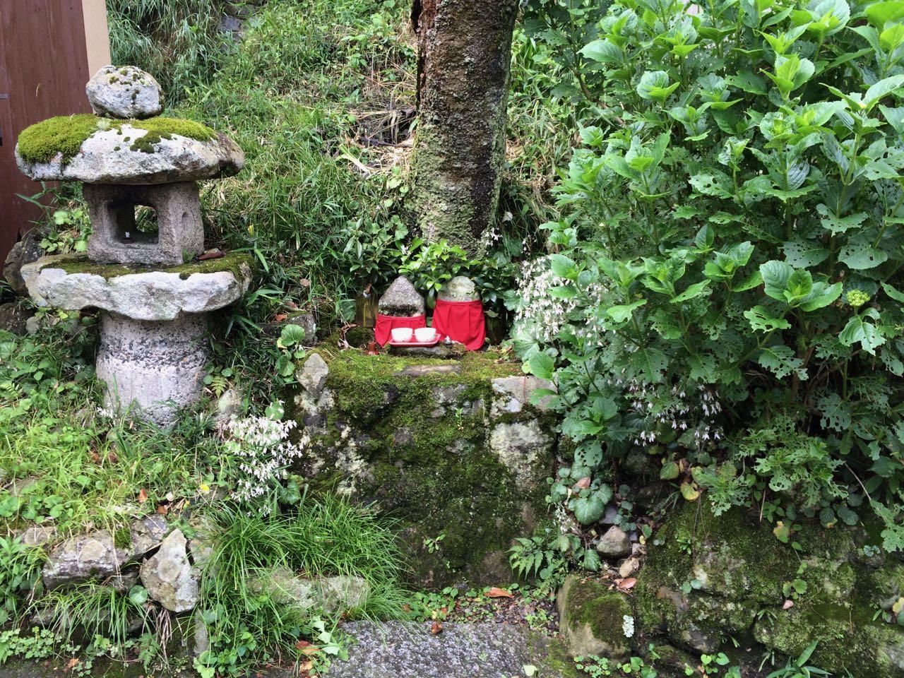 Cute nook in Sanzen-in