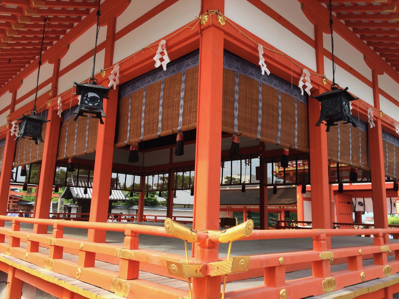 Shrine at the bottom of Mt. Inari