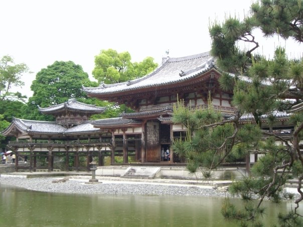 Byodo-in, of the 10¥ coin fame.