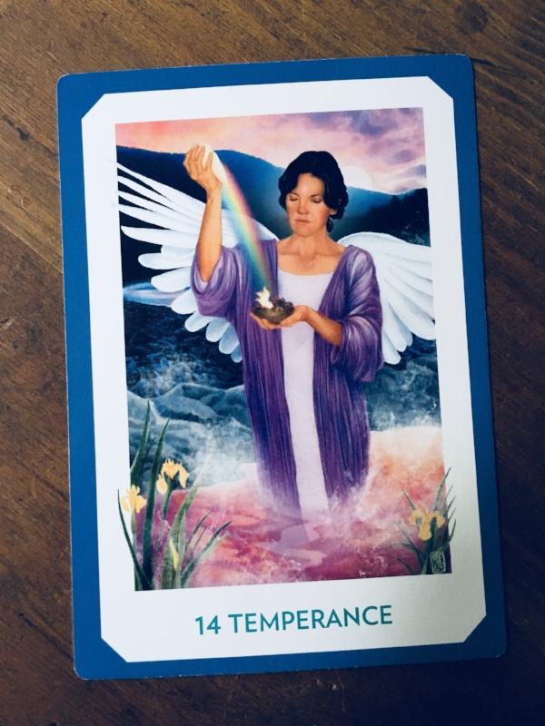 """Temperance,"" The Gaian Tarot"