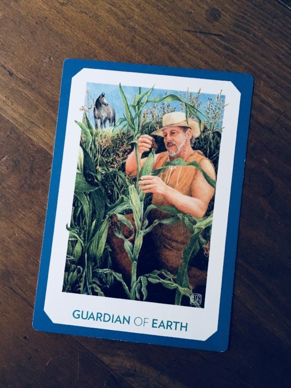 """""""Guardian of Earth,"""" The Gaian Tarot"""