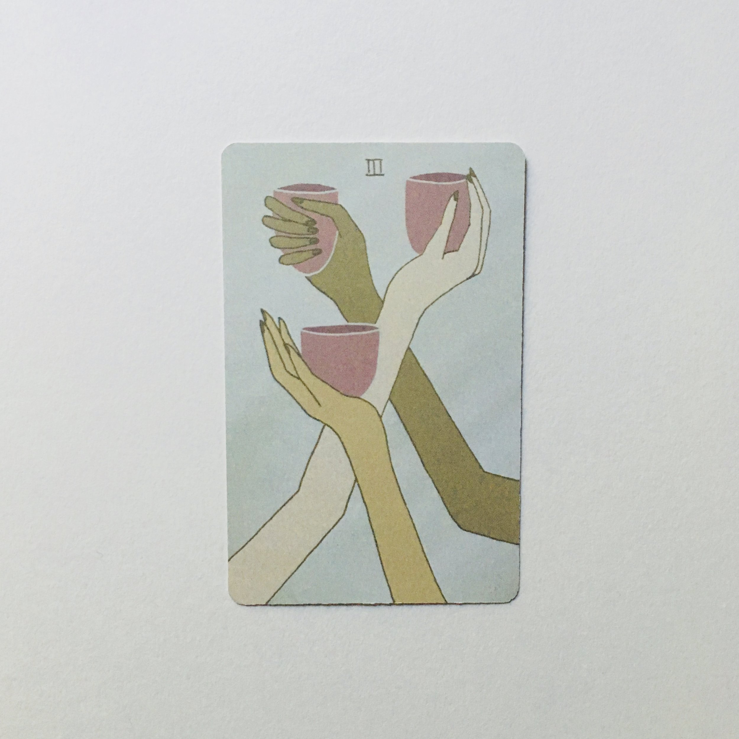 Three of Cups, Mesquite Tarot