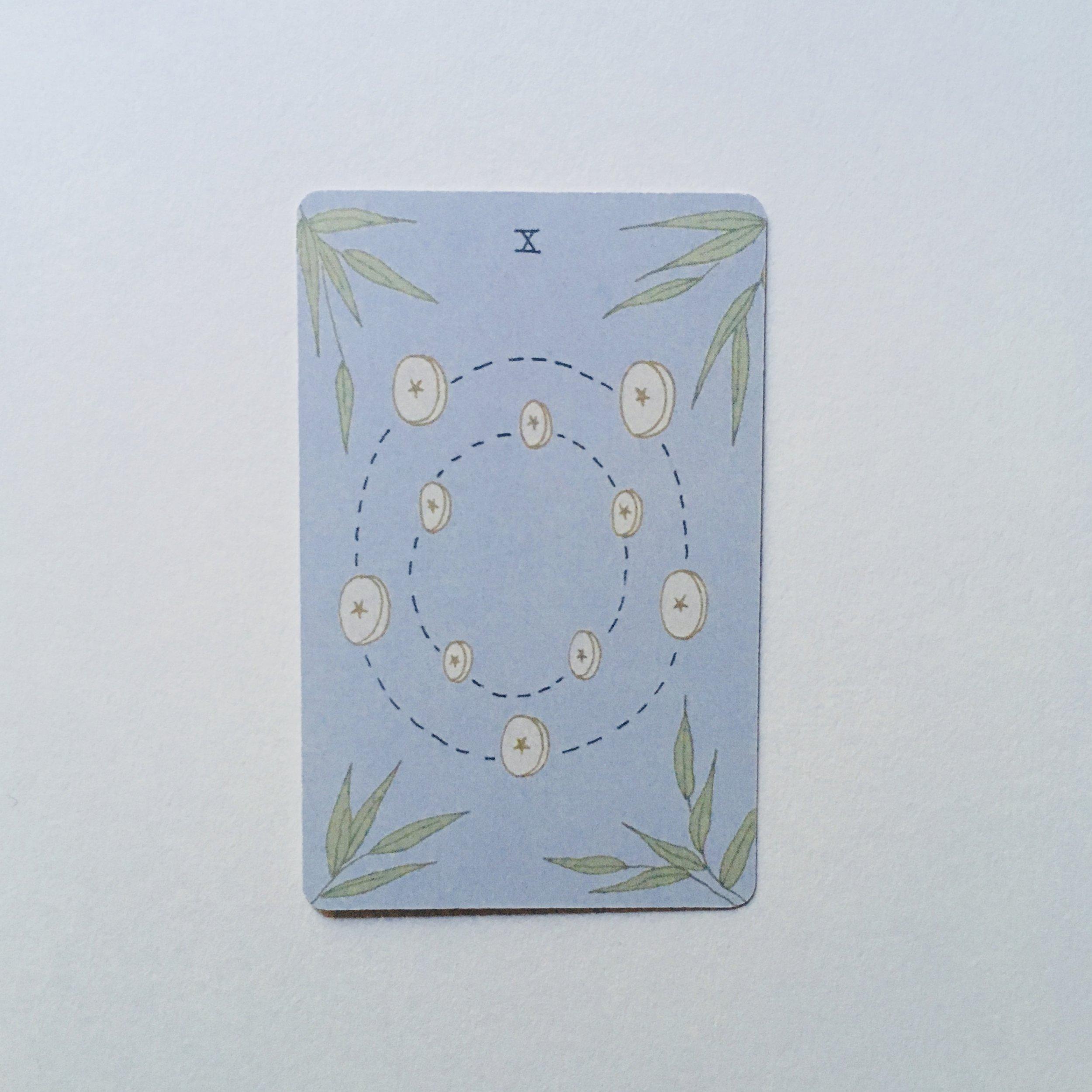 Ten of Pentacles, Mesquite Tarot
