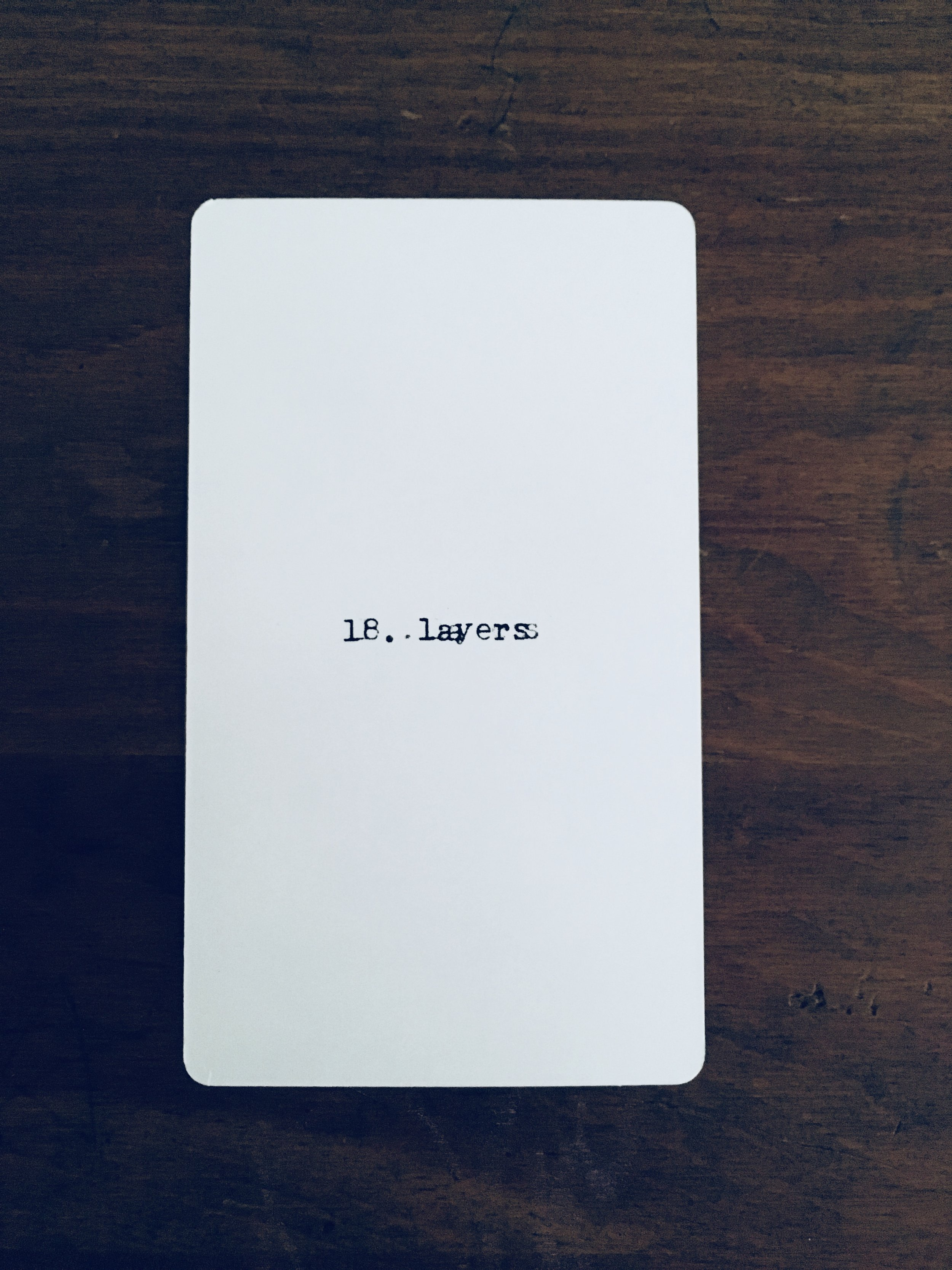 Sagittarius: 18. layers