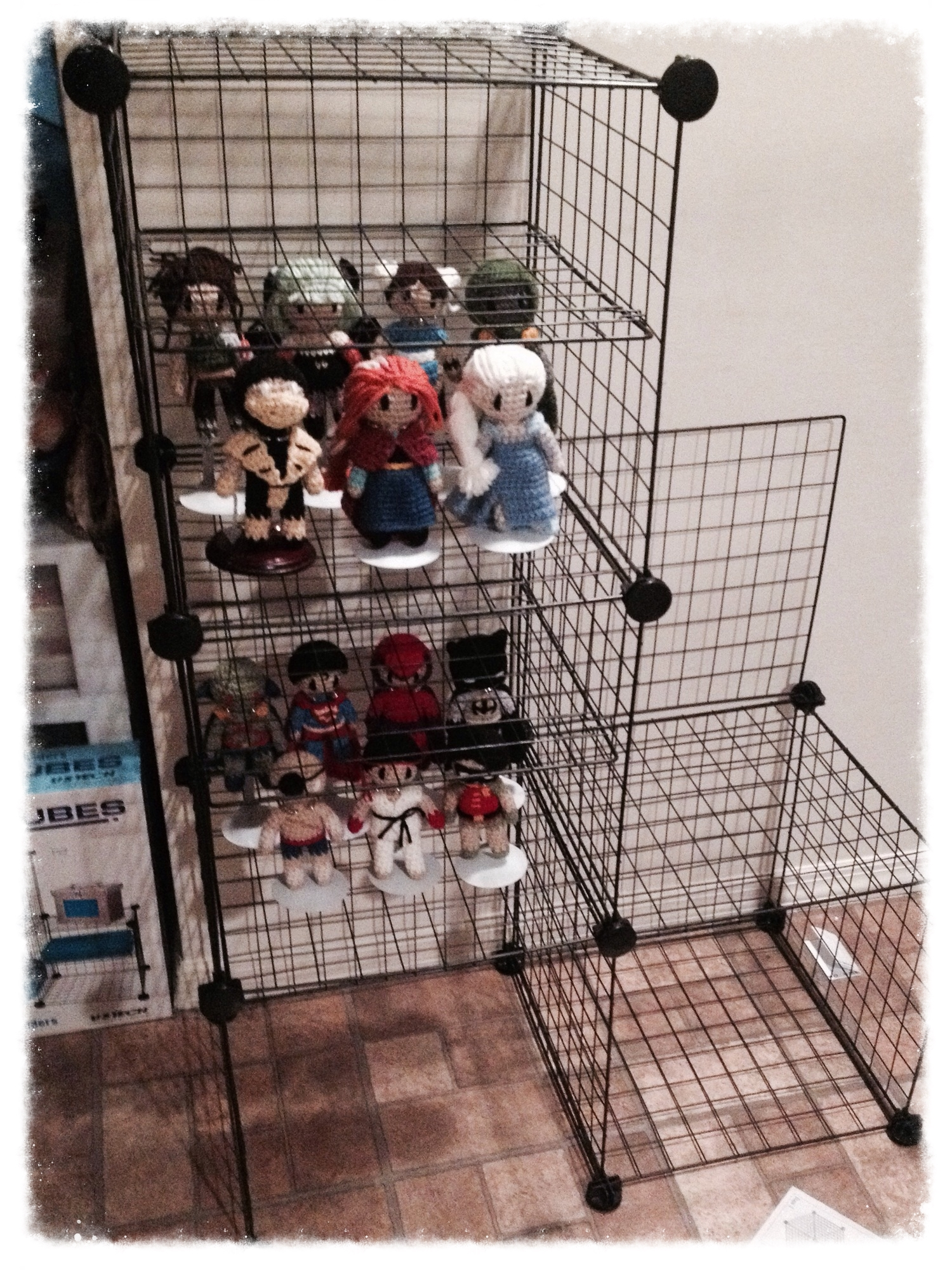 This is the doll display I decidedon using