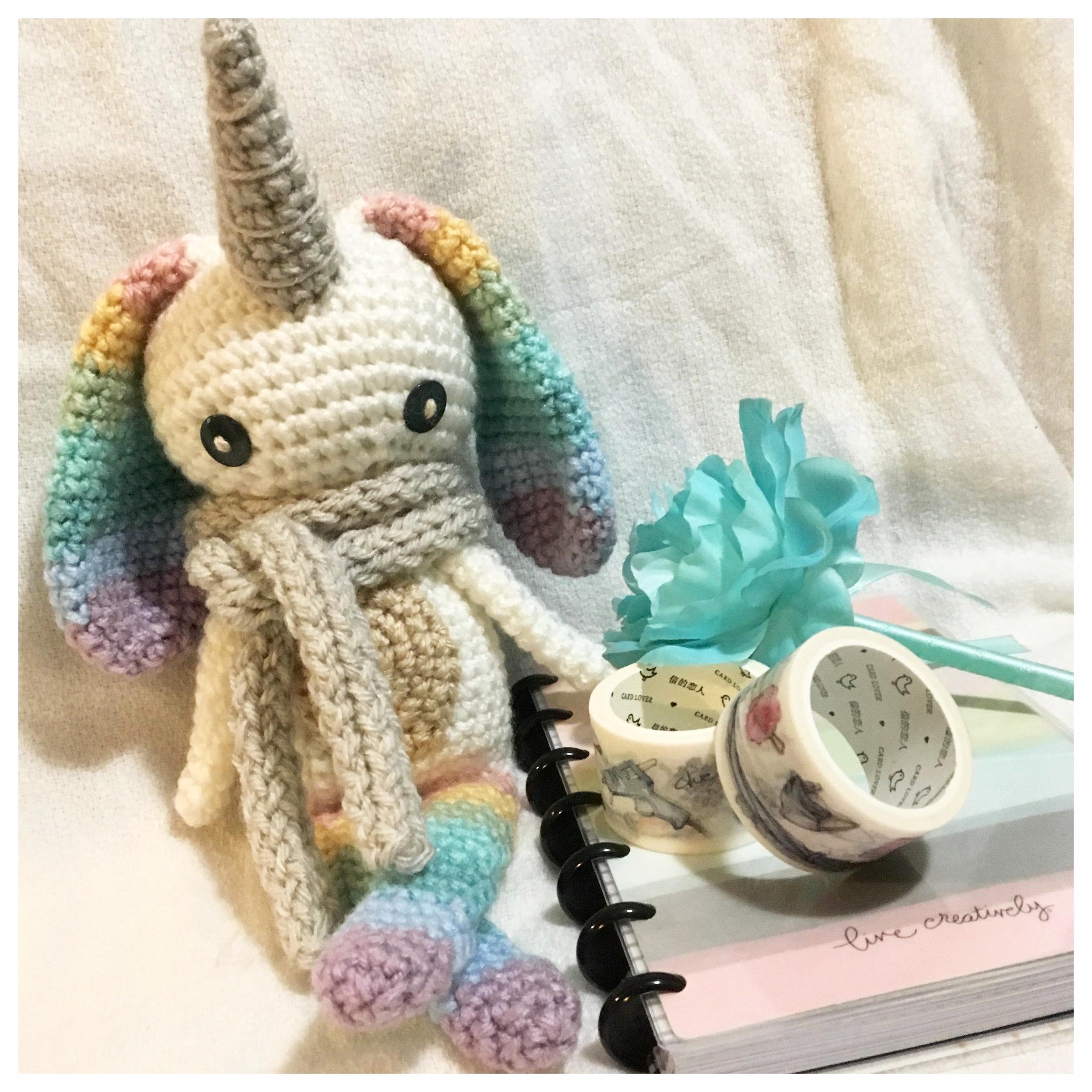 Handmade Elephant New Baby Girl Crochet Greeting Card   Baby girl ...   2500x2500