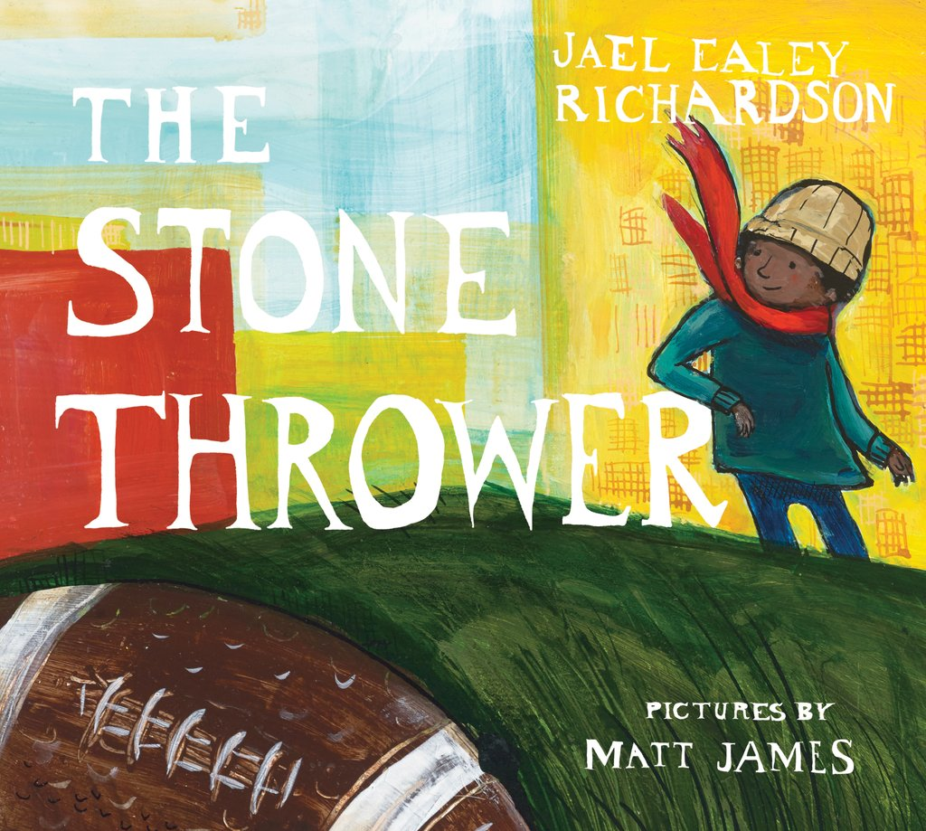 Groundwood Book's 2016 edition of The Stone Thrower.