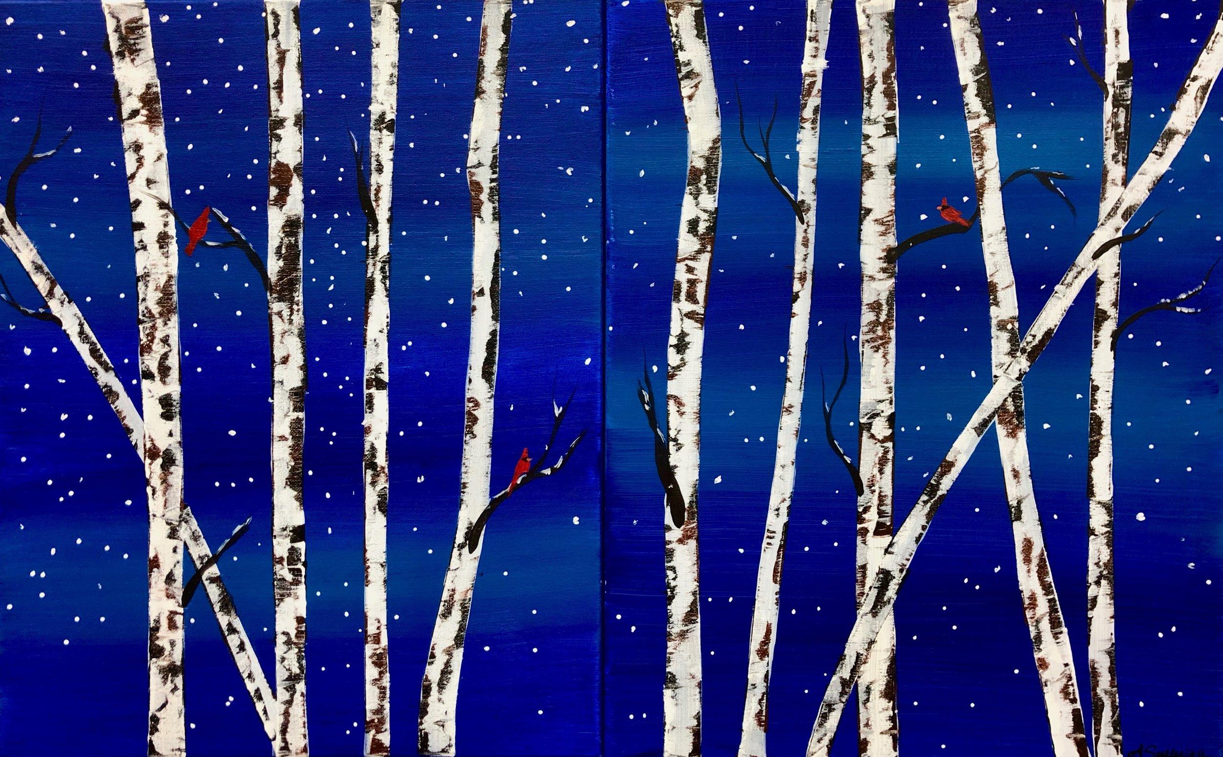 Winter's Birch