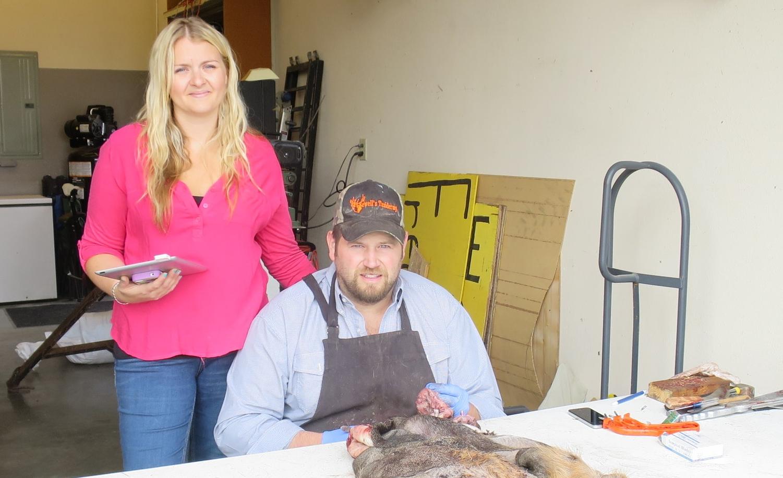Heath & LaurelLynne Sewell   Taxidermists & Hunters