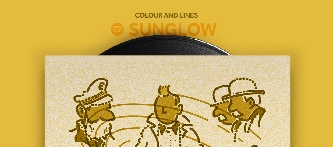 Colour and Lines Mixtape - Sunglow