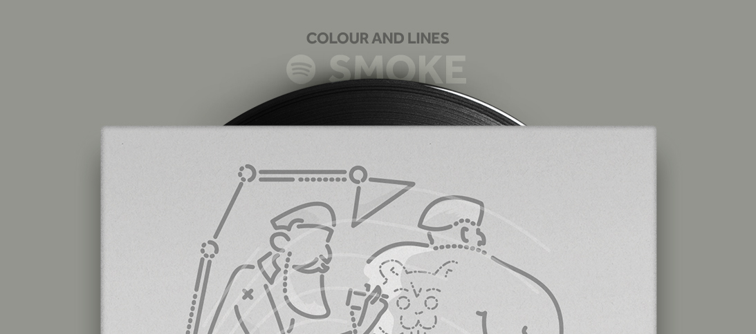 Colour and Lines Mixtape - Smoke