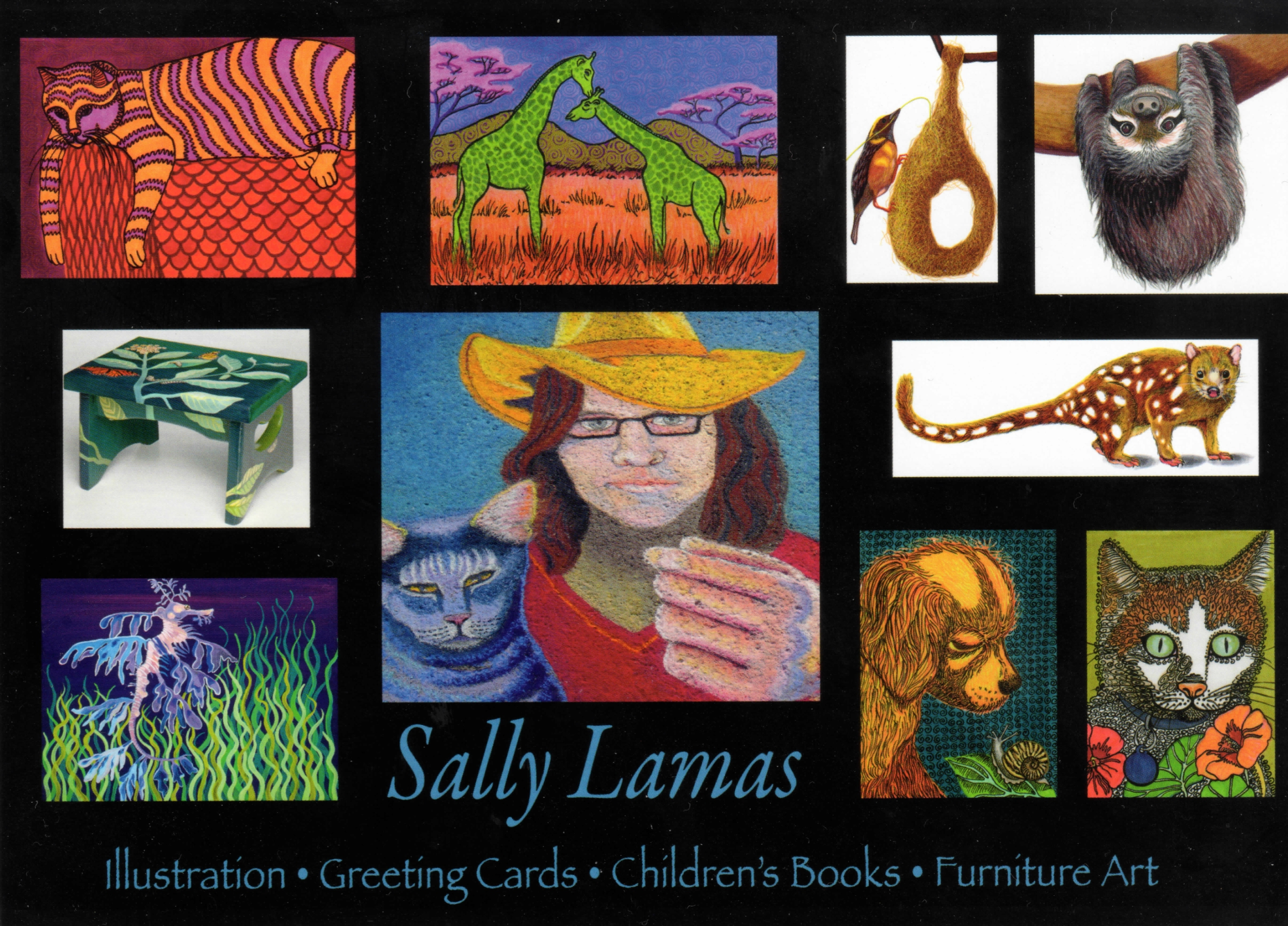 Samples of Sally's work.