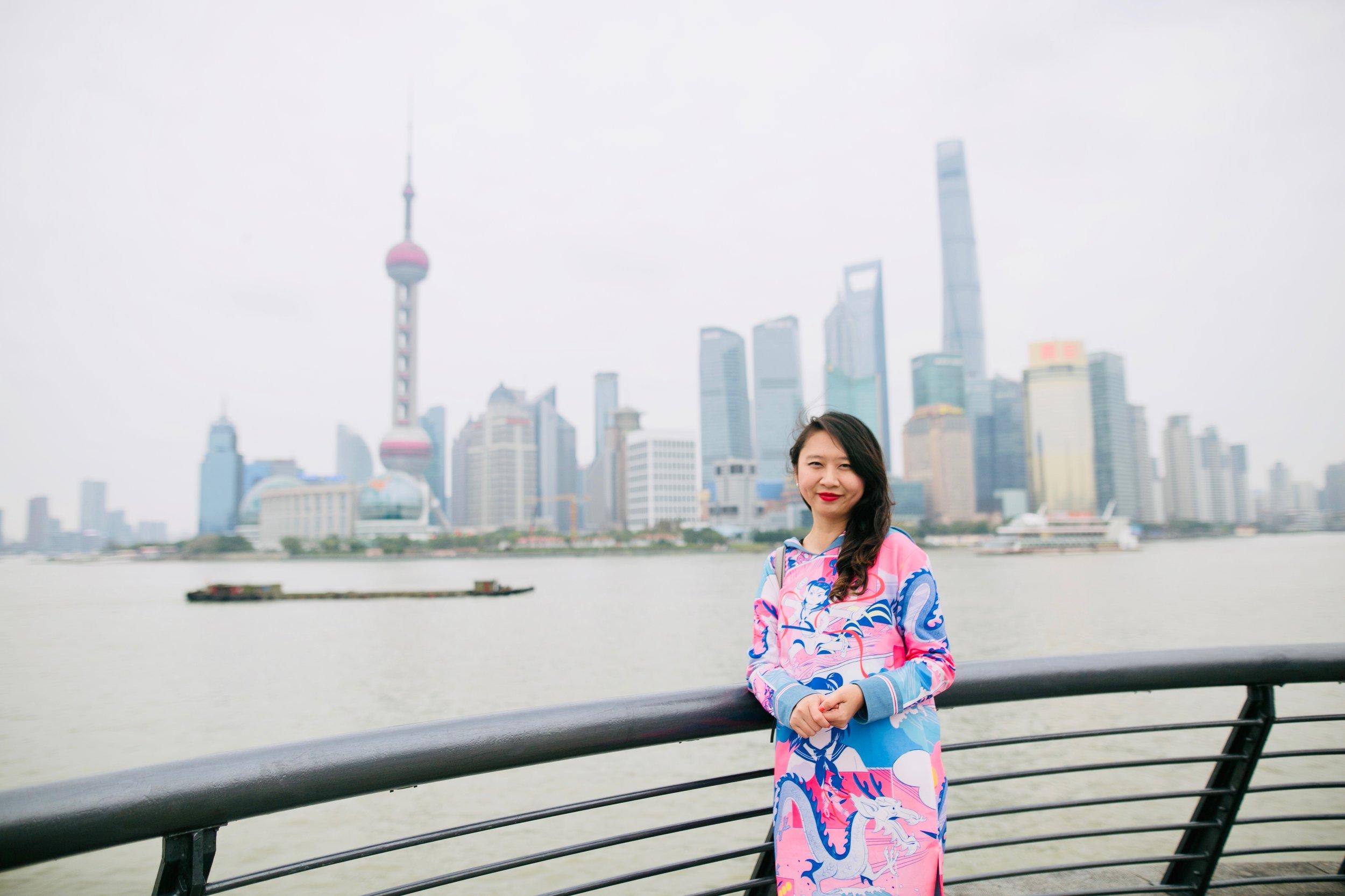 Shanghai, 2018: wearing Mukzin
