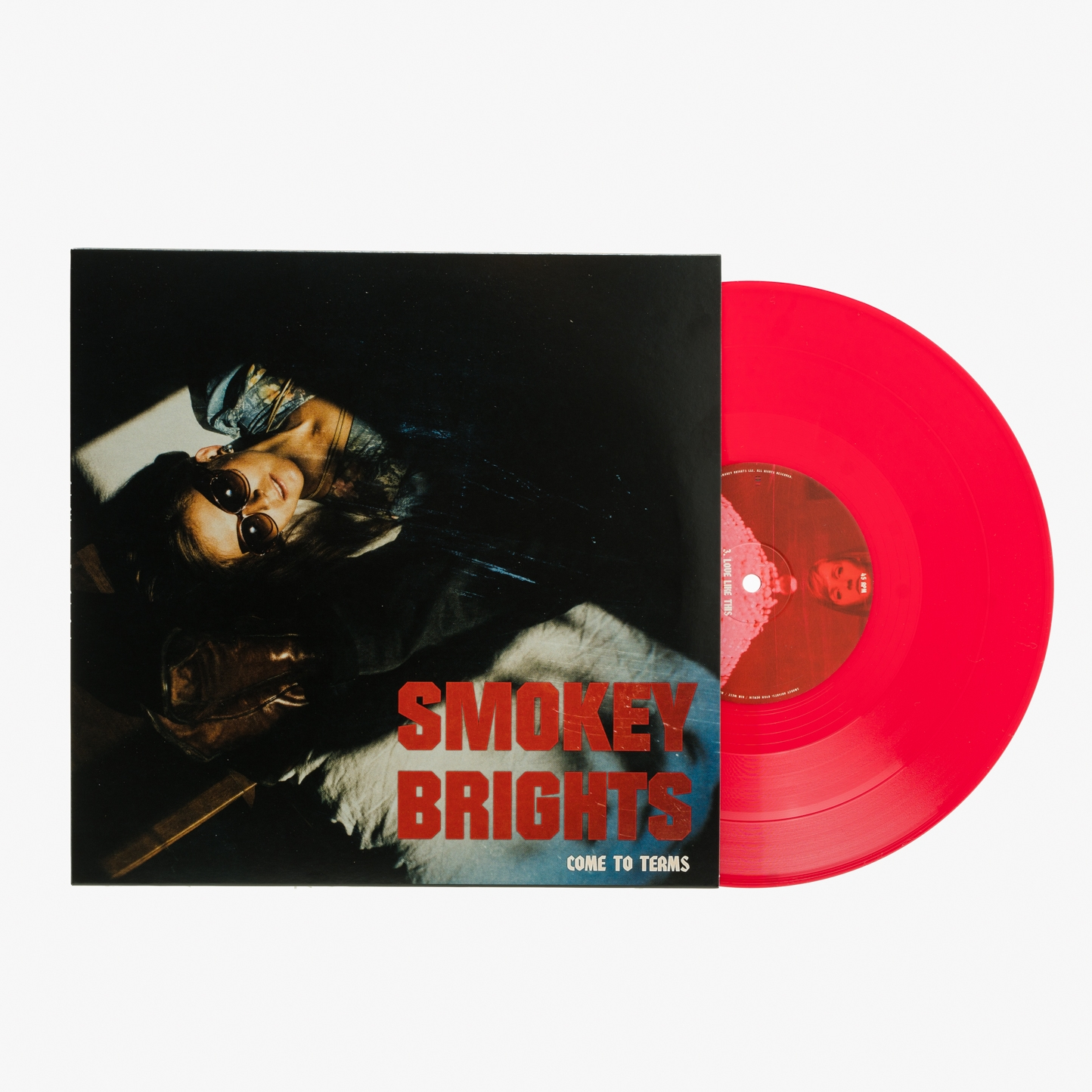 """Order """"Come to Terms"""" on red vinyl from  Freakout Records !"""