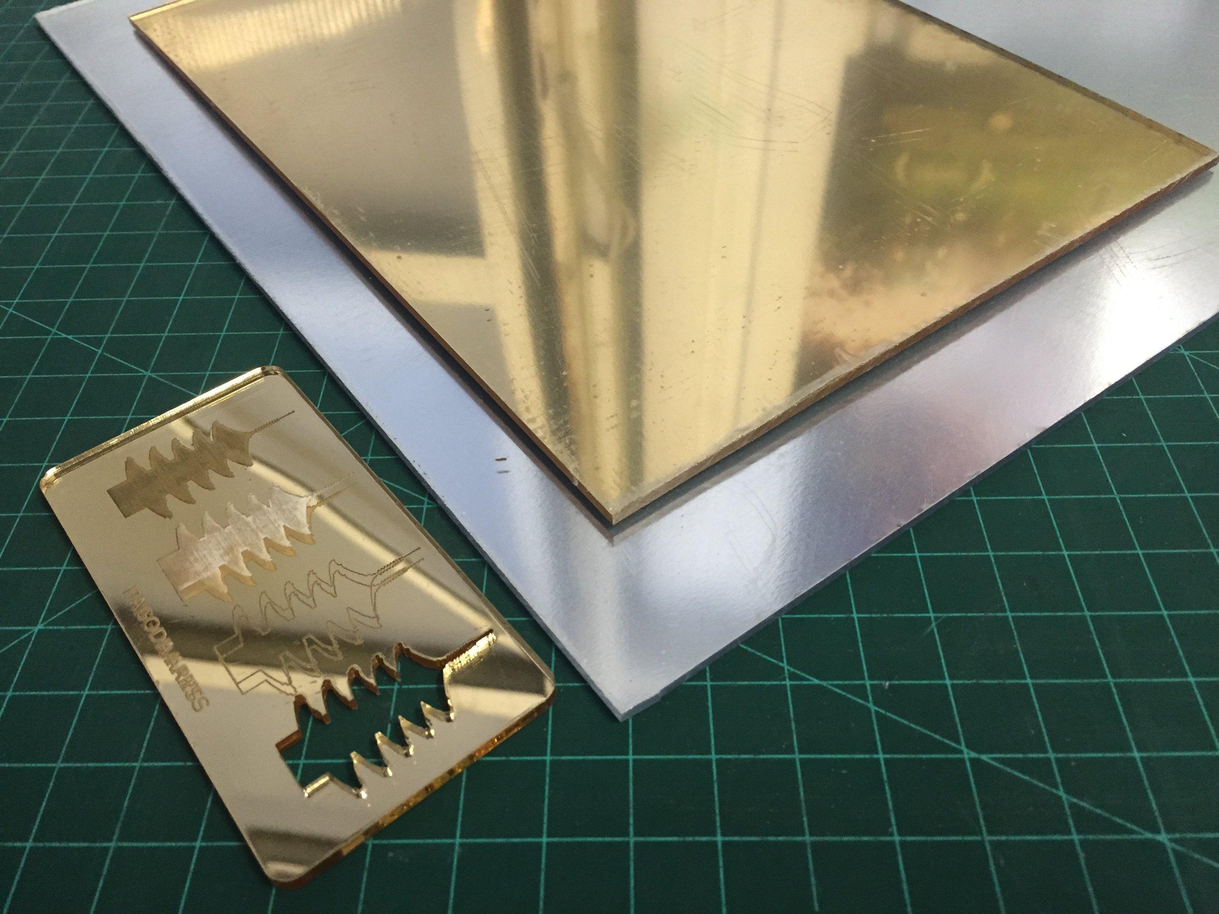 - Acrylic/Plexiglas cast 0.118