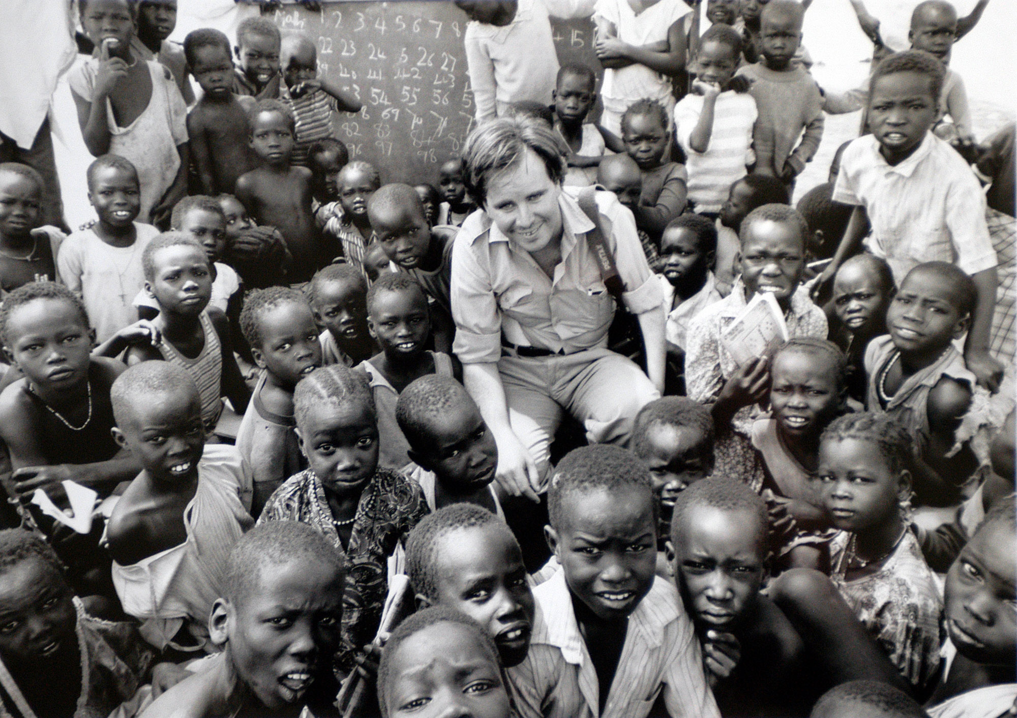 Web Paul with Southern Sudan Kids During Civil War (credit Andrew Stawicki).jpg