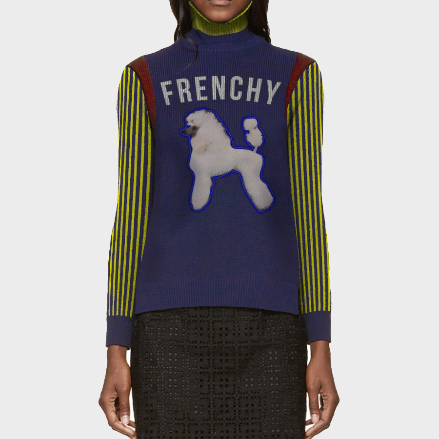 """SGRho COLLECTION. Frenchy Edition. """"Modern Varsity Toy"""""""
