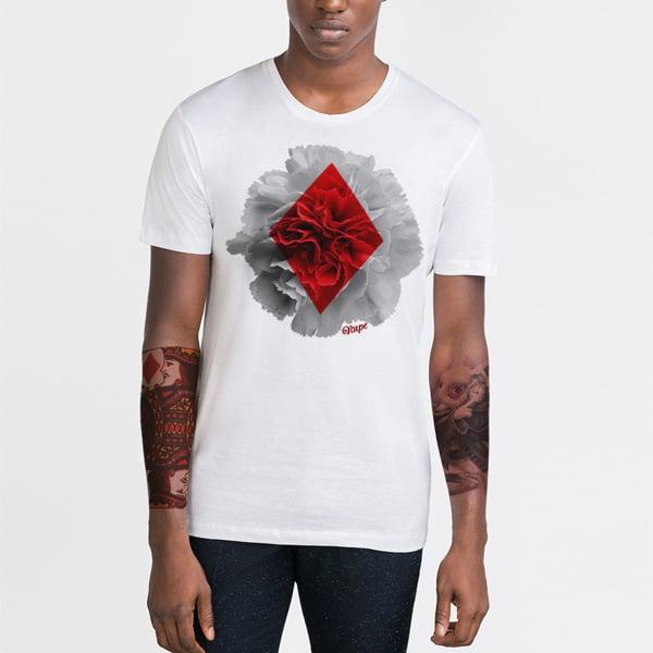Diamond Bloom Designer T-shirt