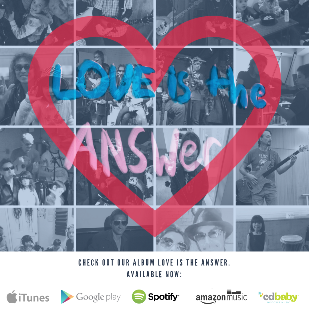 "#MusicIsLife - Check out our new album ""Love is the Answer"""