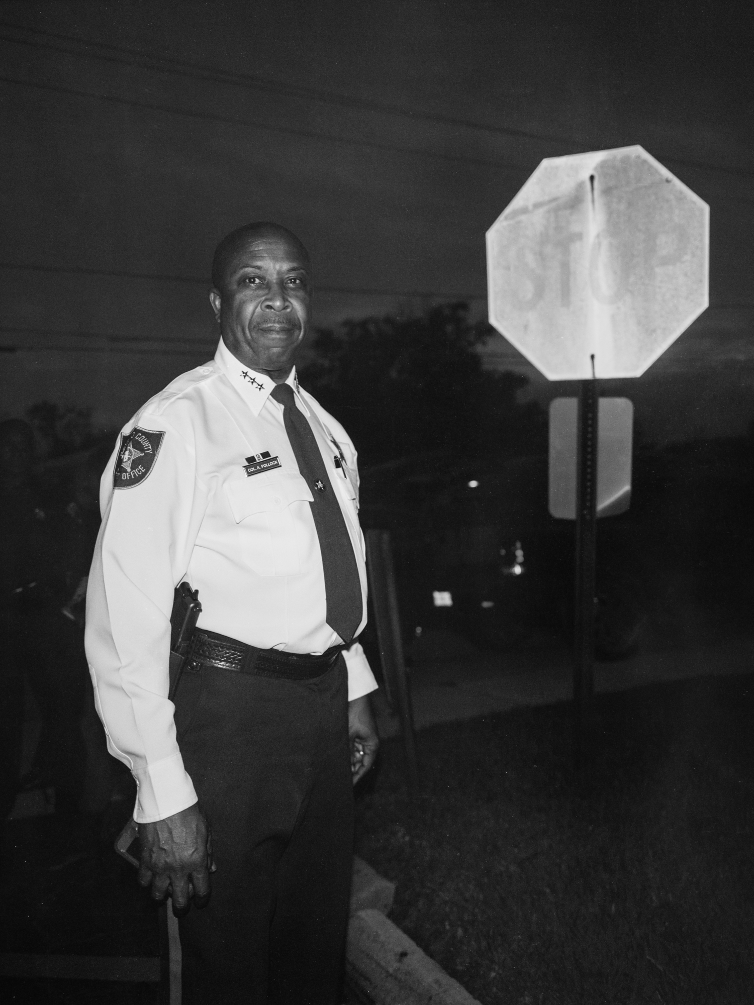 Colonel Al   Pollock while attending a Community Peace Rally, in response to the acquittal of George Zimmerman in the fatal shooting of Trayvon Martin.  New Mount Olive Baptist Church, Fort Lauderdale, FL - 2013
