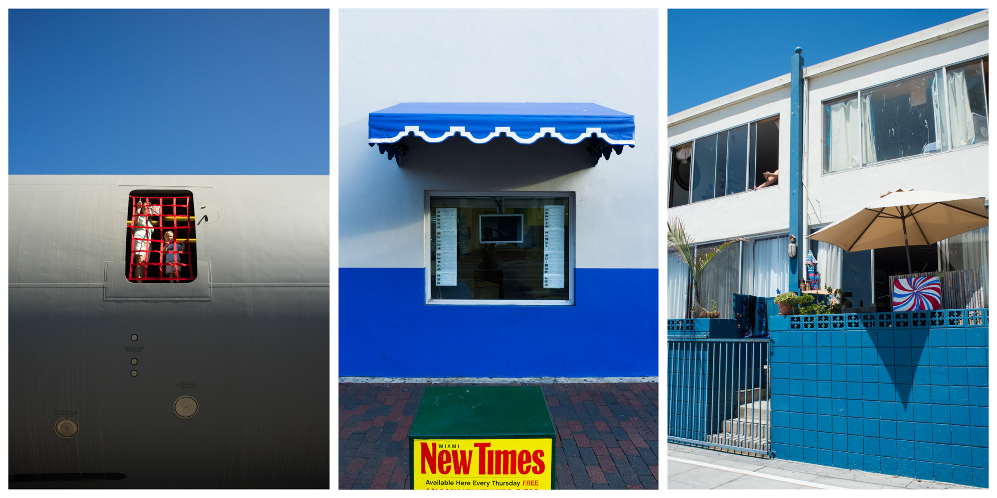 Multiple Locations (From Left to Right)   Homestead, FL - 2012  Coral Gables, FL - 2013  Venice Beach, CA - 2014