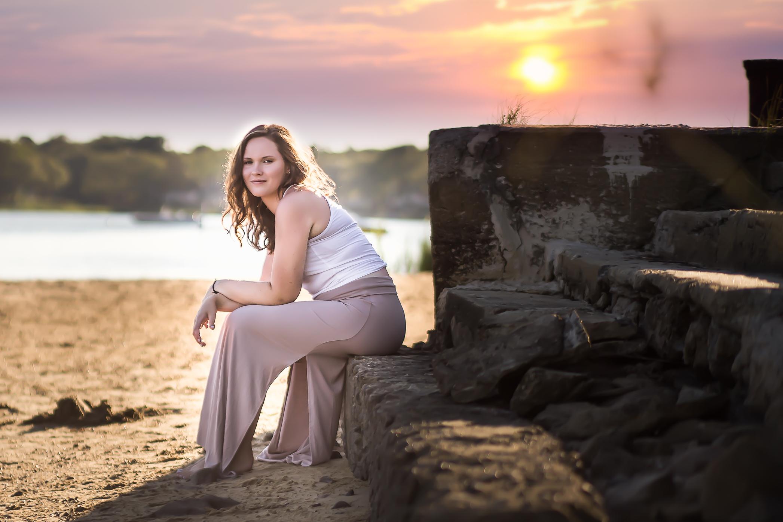 beach-charlotte-senior-photographer