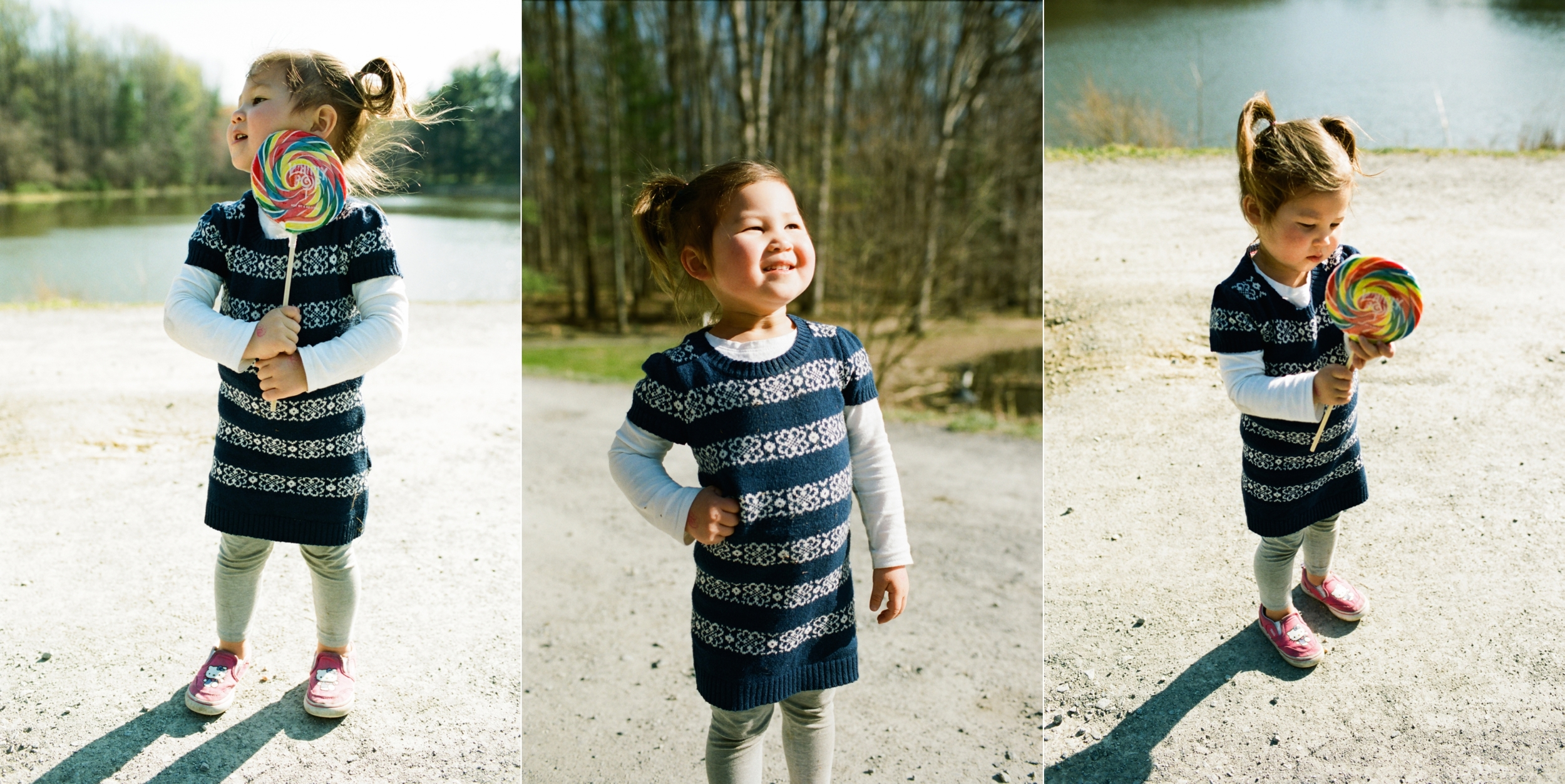 REMINDER TO SELF: I will NEVER push Portra 400 in 35mm ever again.