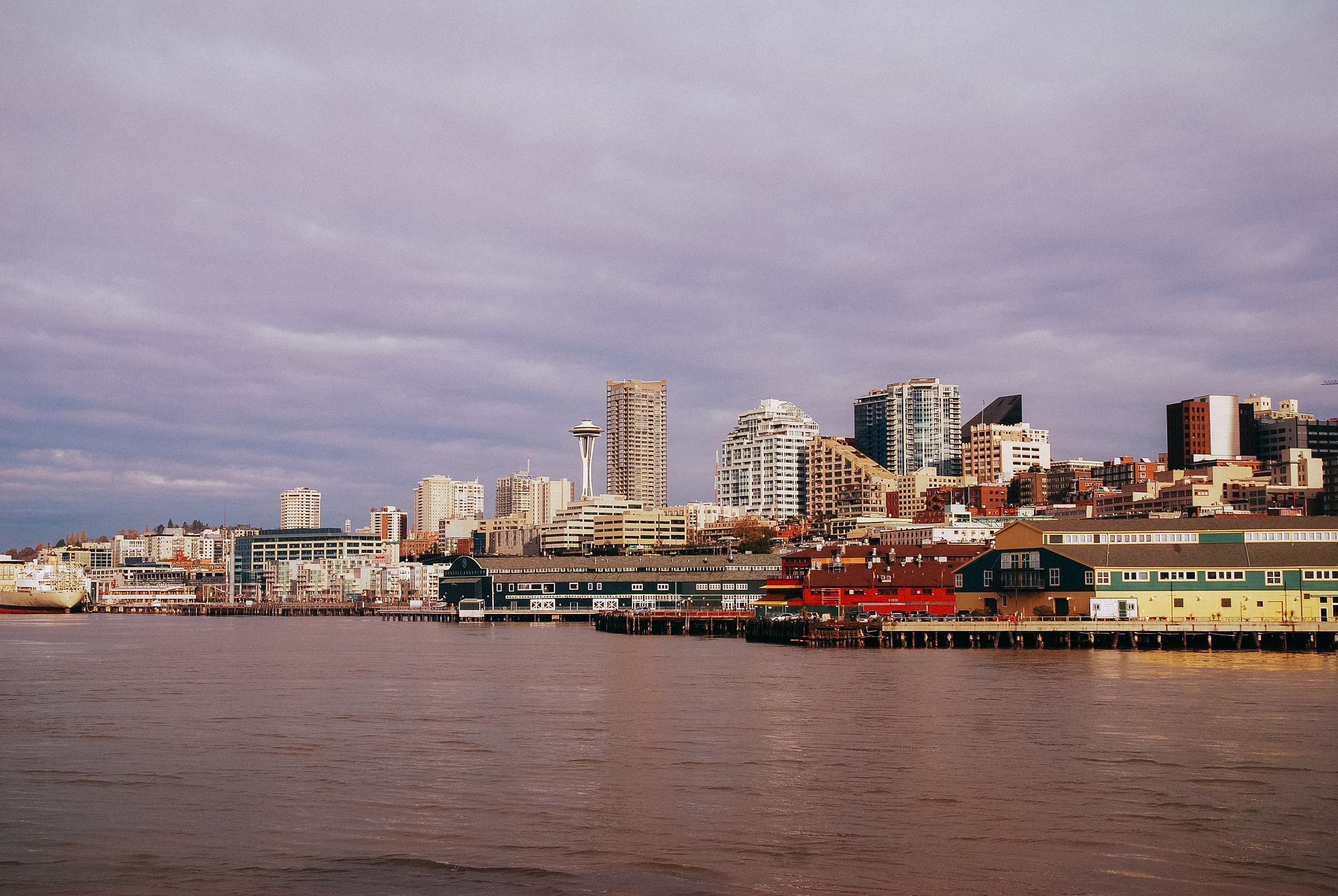 A photo from my first Seattle visit, November 2008