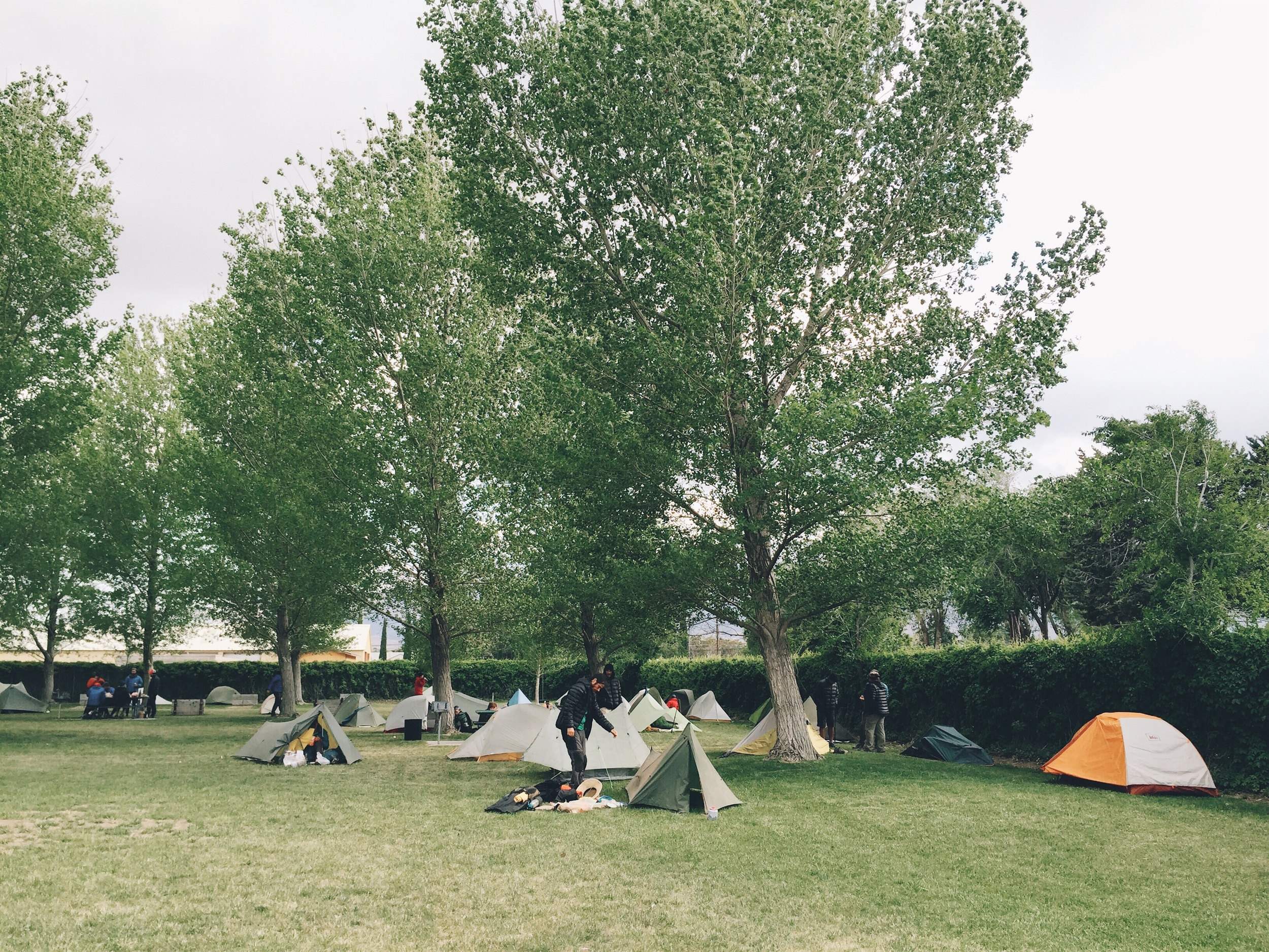 So many tents here.