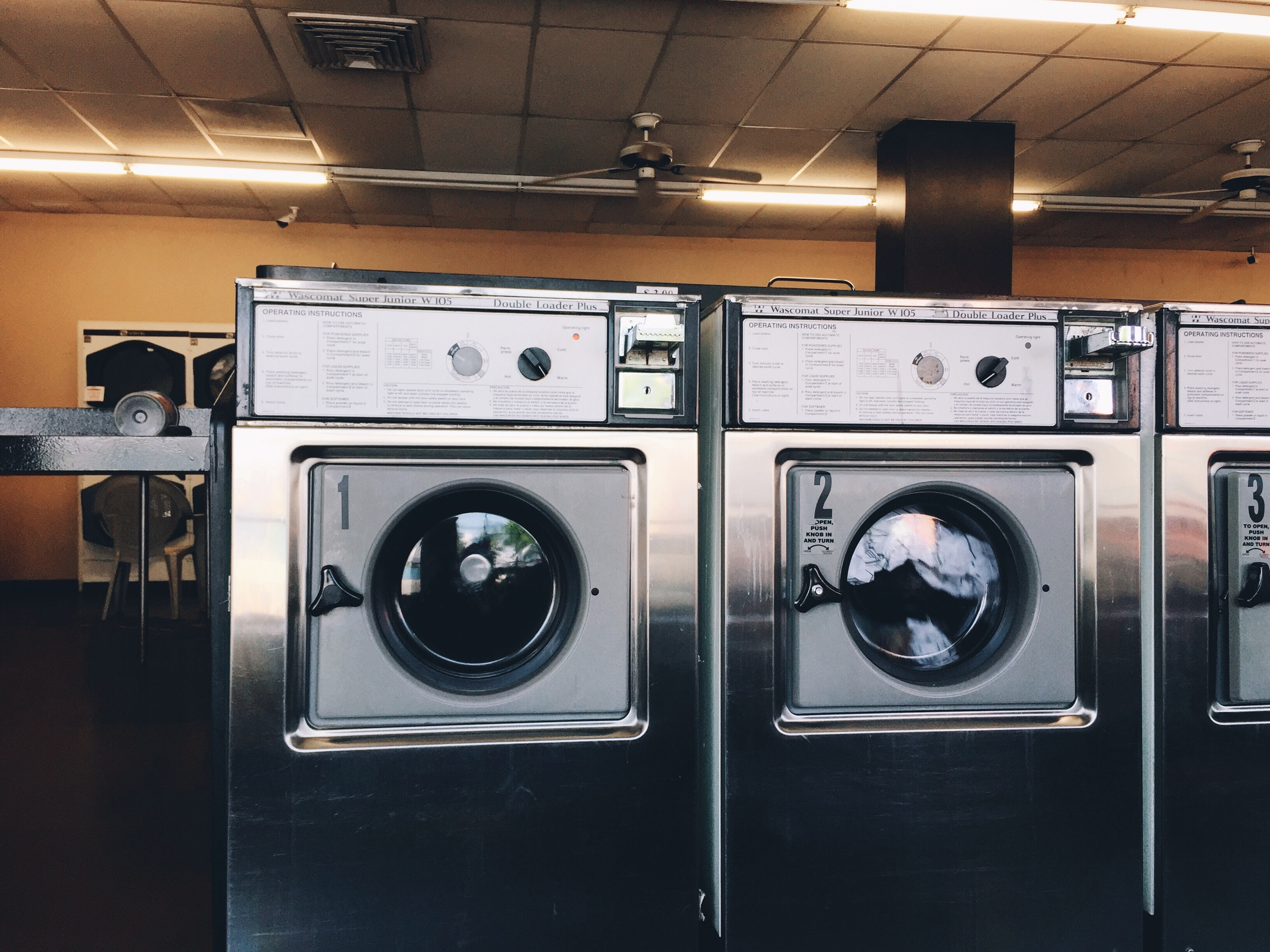 Laundry time.