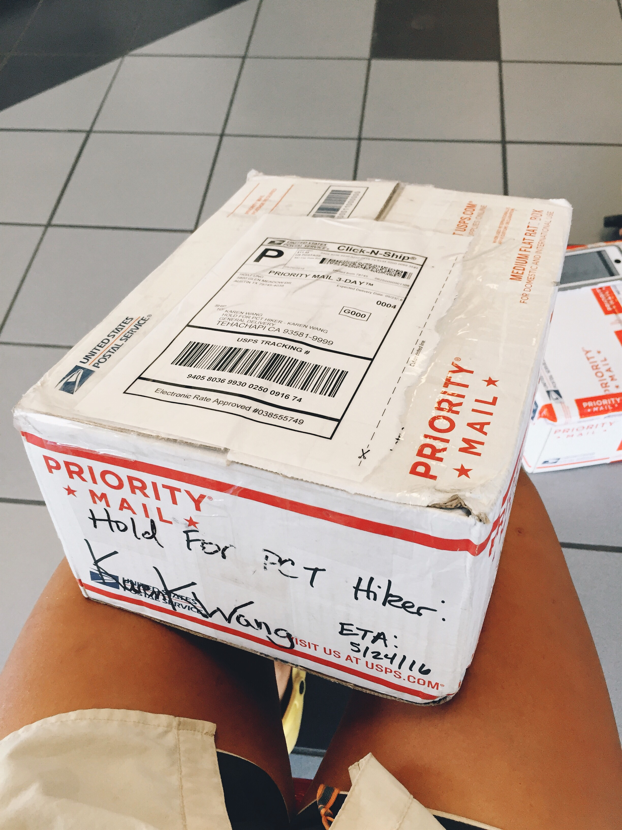 Care package from JC and Hoat!