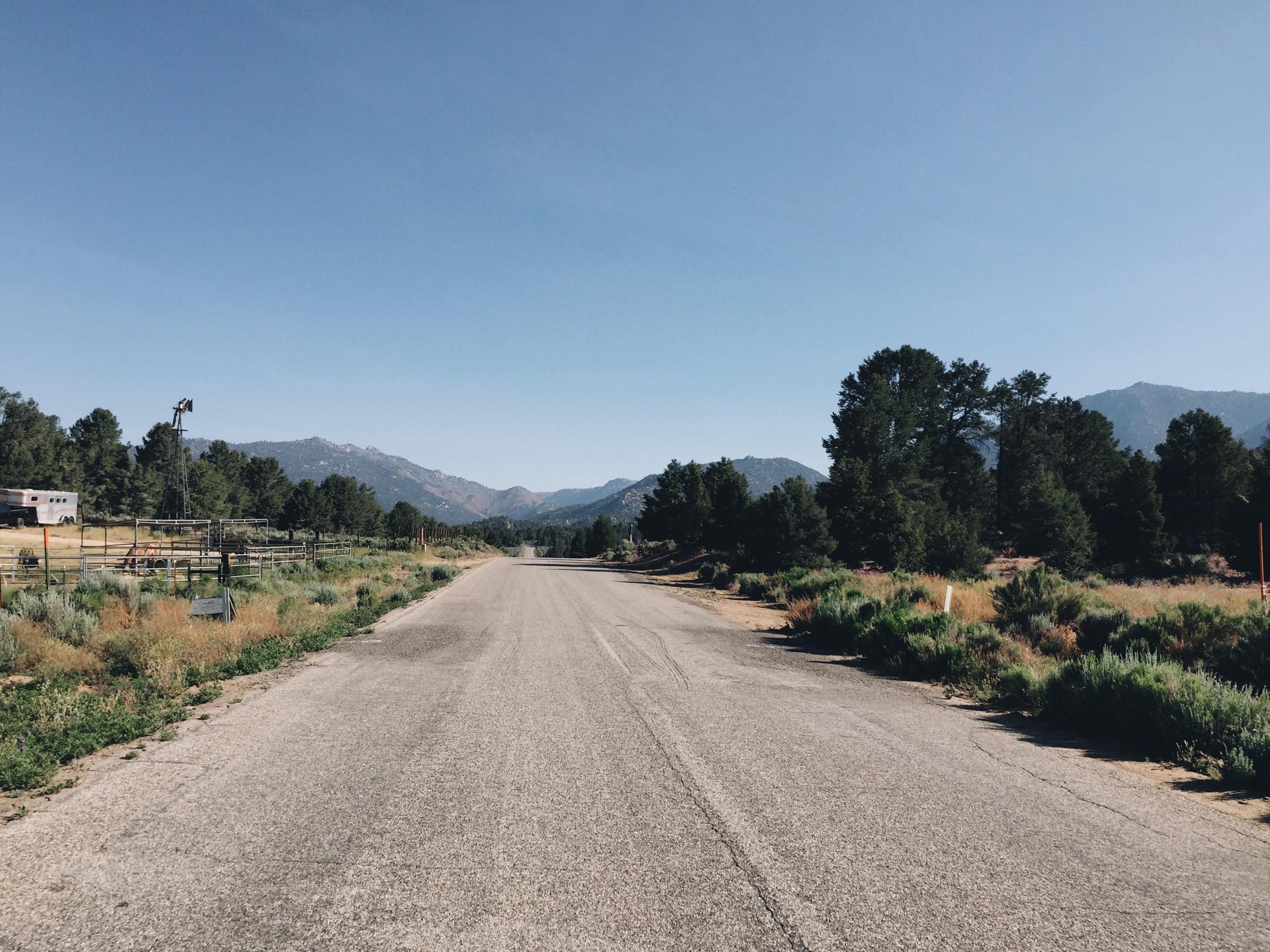 Sherman pass road, I forgot to turn here.