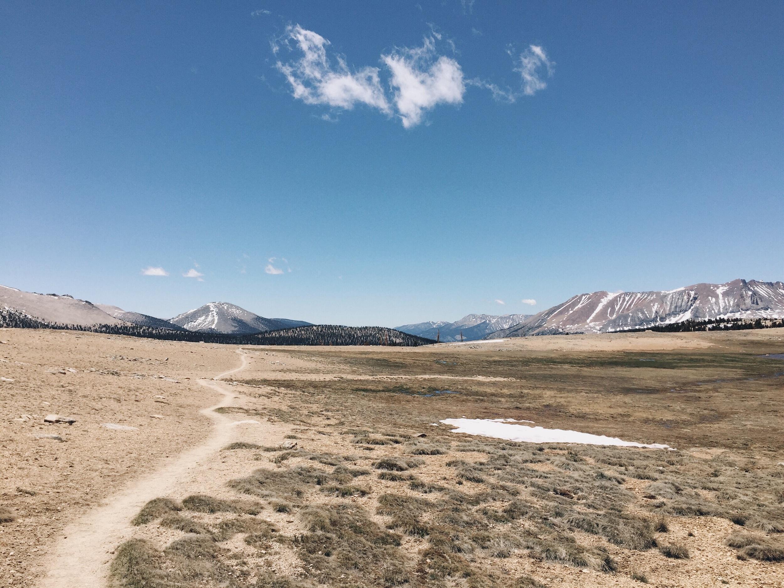 Buckhorn plateau.